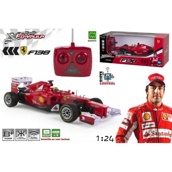 Masina formula 1 Ferrari F138/2013 RC 1:24