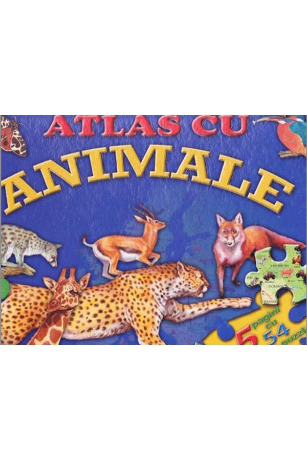 ATLAS CU ANIMALE - PUZZLE