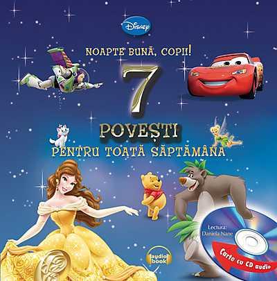 NOAPTE BUNA, COPII! 7 POVESTI PENTRU TOATA SAPTAMANA CARTE+CD