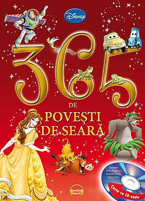 365 DE POVESTI DE SEARA CARTE+CD
