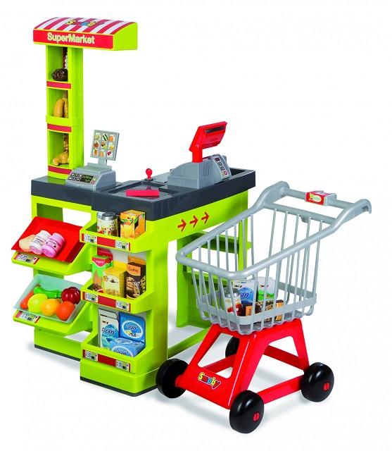 Supermarket +cos cumparaturi