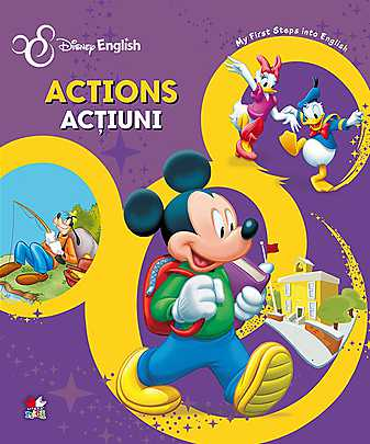 ACTIONS/ACTIUNI. MY FIRST STEPS INTO ENGLISH