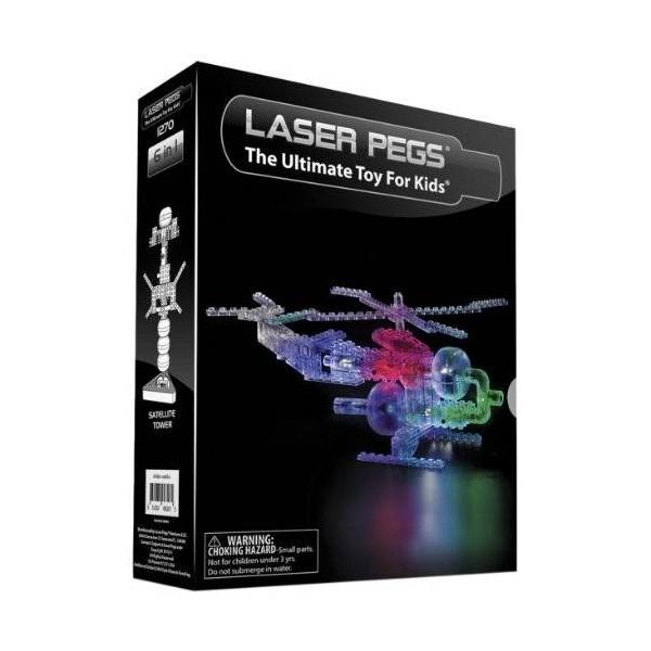 Kit constructie cu lumini 6 in 1 helicopter