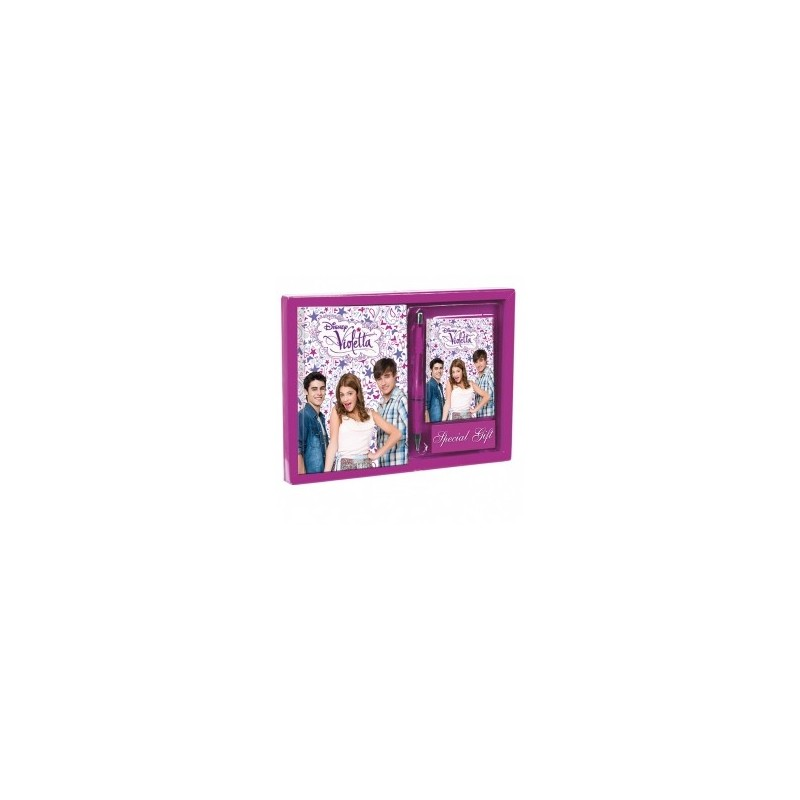 Set jurnal+carnet adrese,Violetta Passport