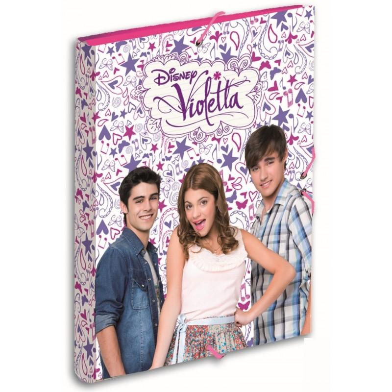 Mapa cu elastic Violetta Passport
