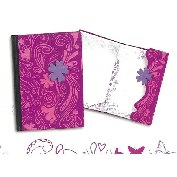 Jurnal cu magnet A5,Violetta Travel