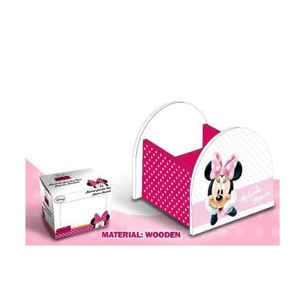 Suport accesorii birou,roz,Minnie