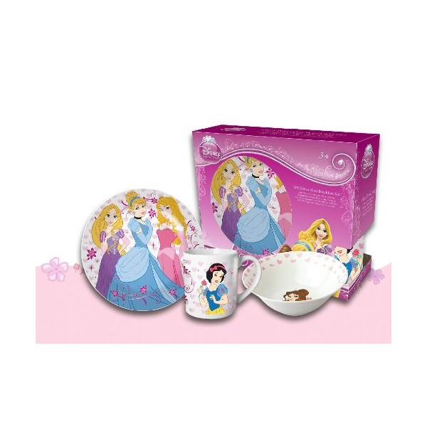 Set mic dejun,3 piese, Princess