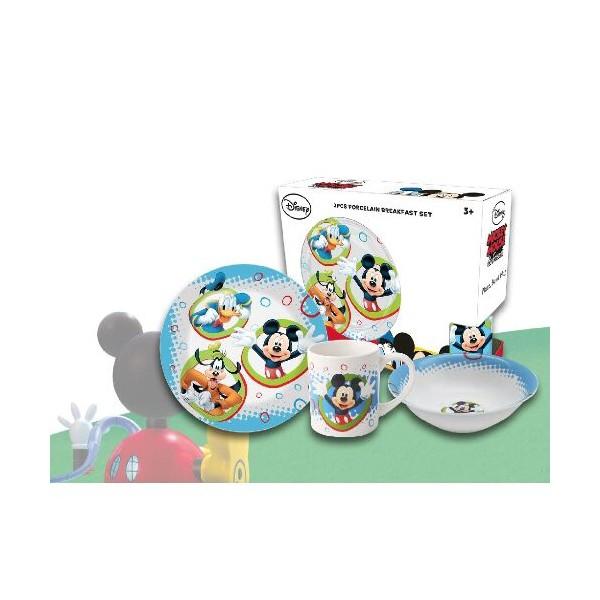 Set mic dejun,3 piese, Mickey