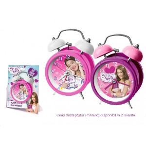 Ceas masa,diametru 12 cm,Violetta