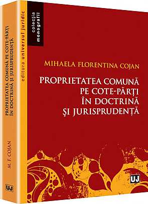 PROPRIETATEA COMUNA PE COTE. PARTI IN DOCTRINA SI JURISPRUDENTA