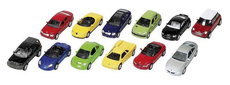 Masinuta 1:60, diverse modele