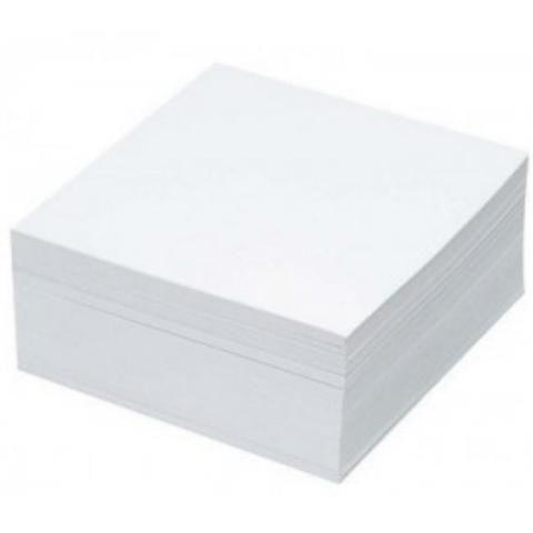 zzRezerva cub hartie Basic,85x85,400f,alb