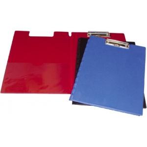 Clipboard dublu A4,PVC,rosu