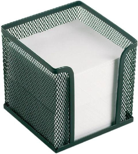 Suport pentru cub hartie mesh,negru