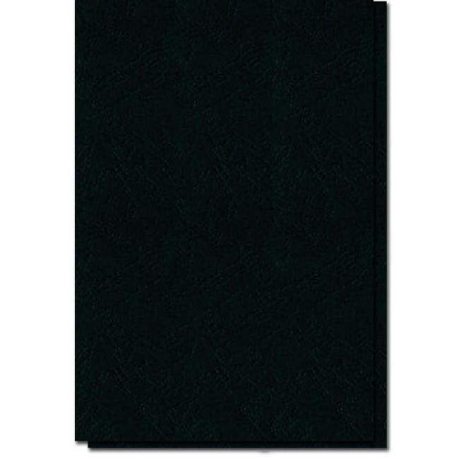 Coperti imitatie piele,A4,100buc/s,negru