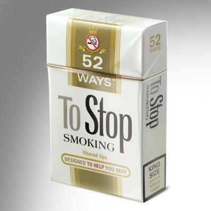 Cartonase 52 Ways to stop smoking