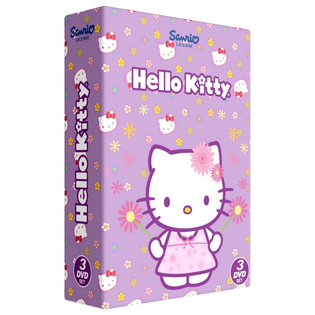 Box Hello Kitty Colectia 2 - 3 DVD