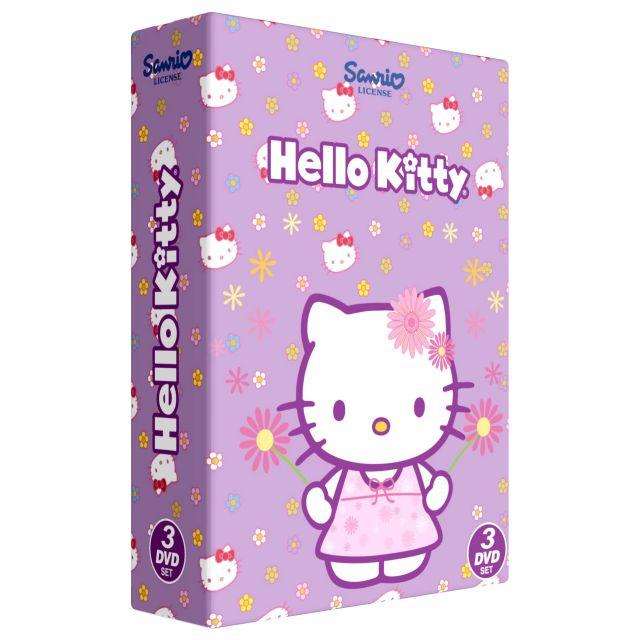 Box Hello Kitty Colectia 2 - 3 DVD