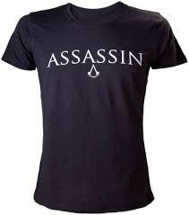 AC IV Black Ladies T-Shirt Crest Logo Size L