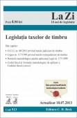 LEGISLATIA  TAXELOR DE TIMBRU LA ZI