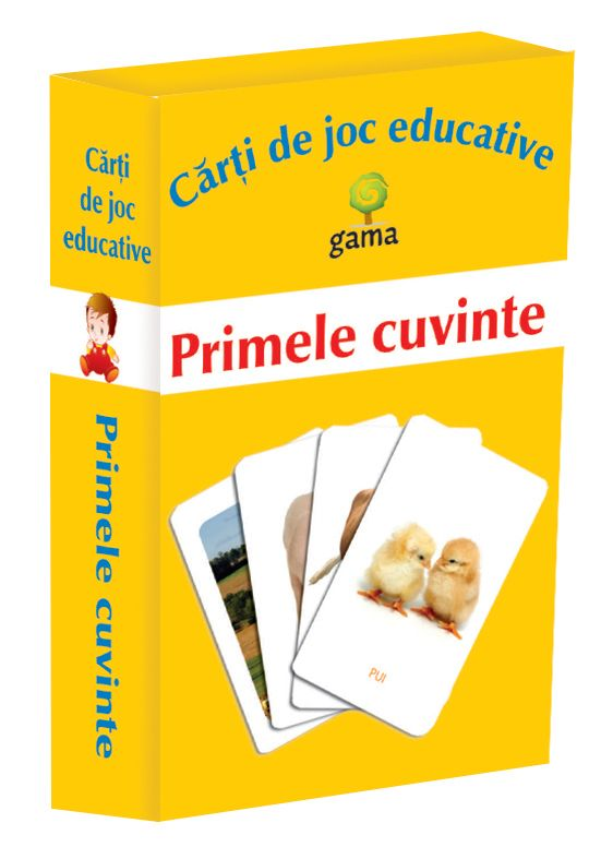 PRIMELE CUVINTE - CARTI DE JOC...