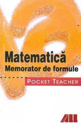 POCKET TEACHER-MATE MATICA-MEMORATOR