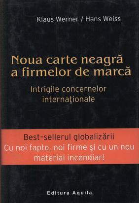 NOUA CARTE NEAGRA A FIRMELOR