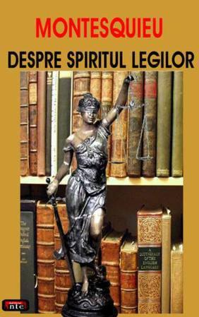 DESPRE SPIRITUL LEGILOR