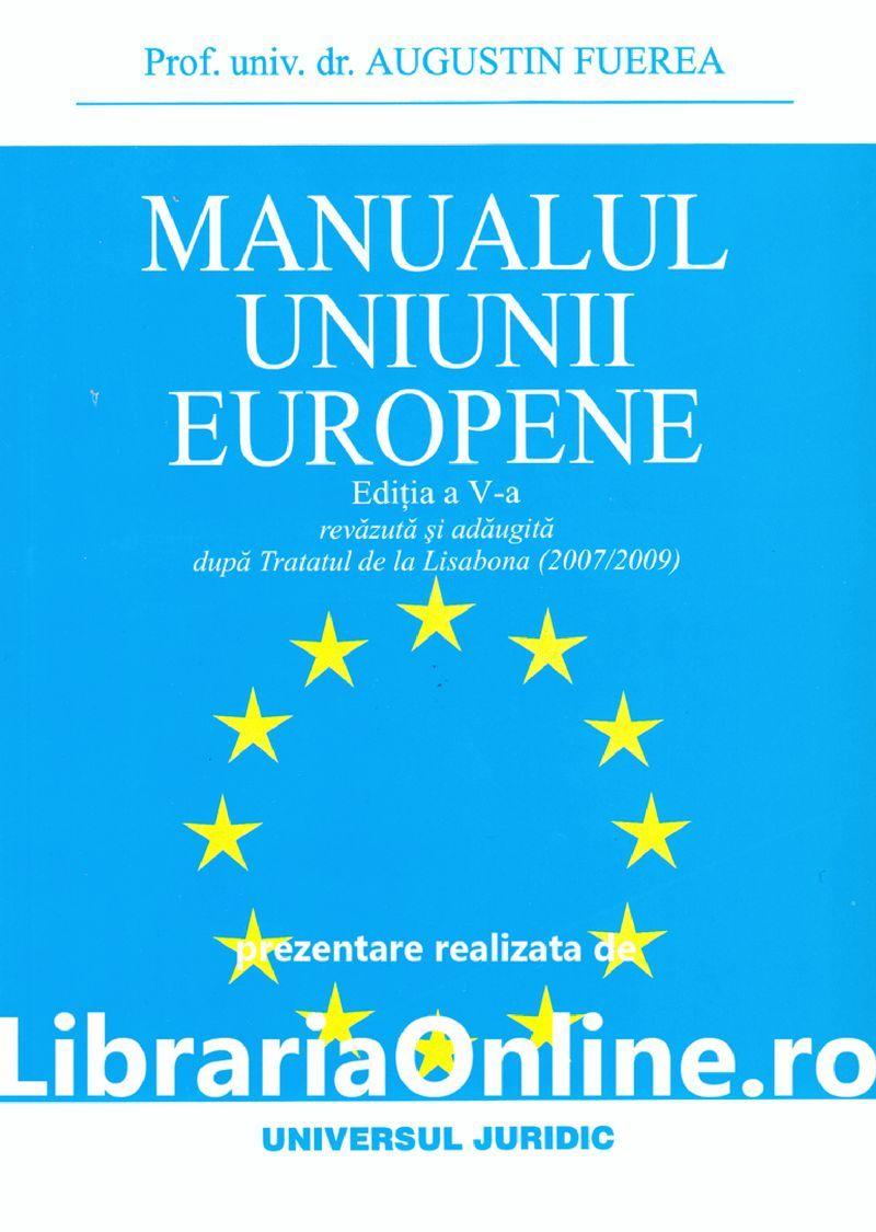 MANUALUL UNIUNII EUROPENE ED A V A