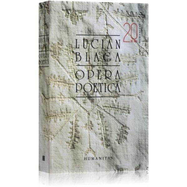 OPERA POETICA EDITIA 2 L. BLAGA