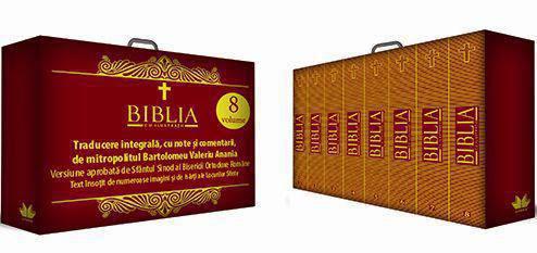 BIBLIA CU ILUSTRATII SET 8 VOLUME