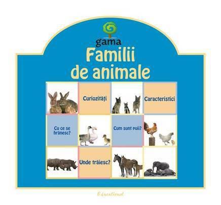 FAMILII DE ANIMALE .