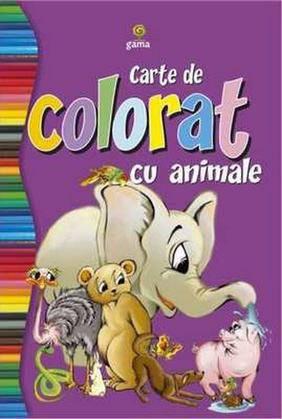 CARTE DE COLORAT CU ANI MALE