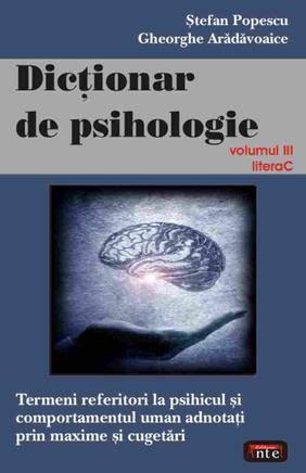 DICTIONAR DE PSIHOLOGIE VOLUMUL 3