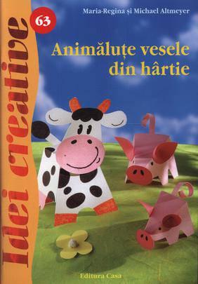 ANIMALUTE VESELE DIN HARTIE IDEI CREATIVE 63