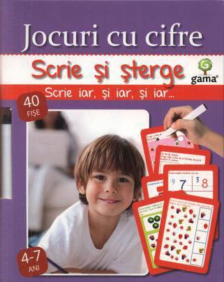 JOCURI CU CIFRE/ SCRIE SI STERGE