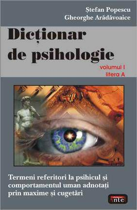 DICTIONAR DE PSIHOLOGIE VOLUMUL 1
