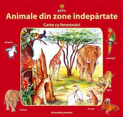 ANIMALE DIN ZONE INDEPA RTATE CARTE CU FERESTRU