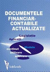 DOCUMENTE FINANCIAR-CONTABILE ACTUALIZATE