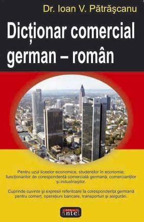 DICTIONAR COMERCIAL GERMAN-ROMAN