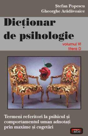 DICTIONAR DE PSIHOLOGIE VOLUMUL 6
