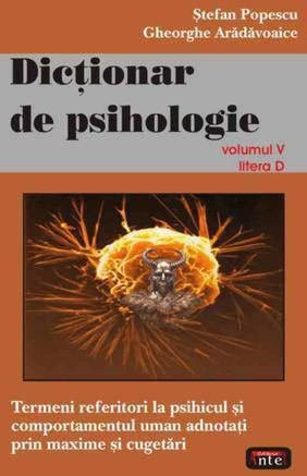 DICTIONAR DE PSIHOLOGIE VOLUMUL 5
