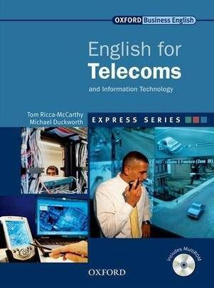 ENGLISH FOR TELECOMS: STUDENT\'S BOOK AND MULTIROM PACK