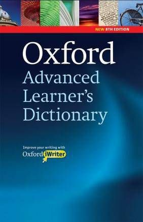 OXFORD ADVANCED LEARNER\'S DICTIONARY, 8TH EDITION INTERNATIONAL STUDENT\'S WITH CD-ROM AND OXFORD IWRITER
