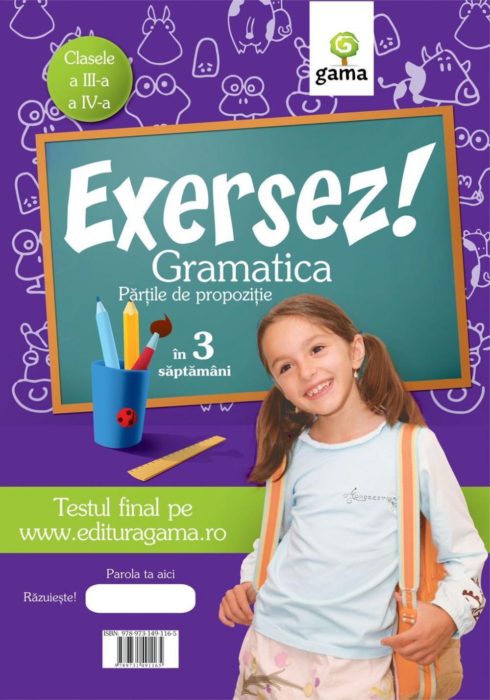 GRAMATICA/ EXERSEZ