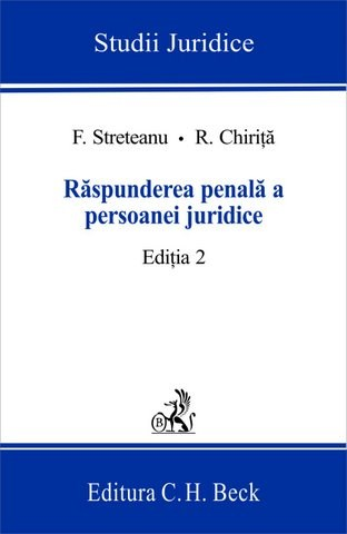 RASPUNDEREA PENALA A PE RSOANEI JURIDICE ED2
