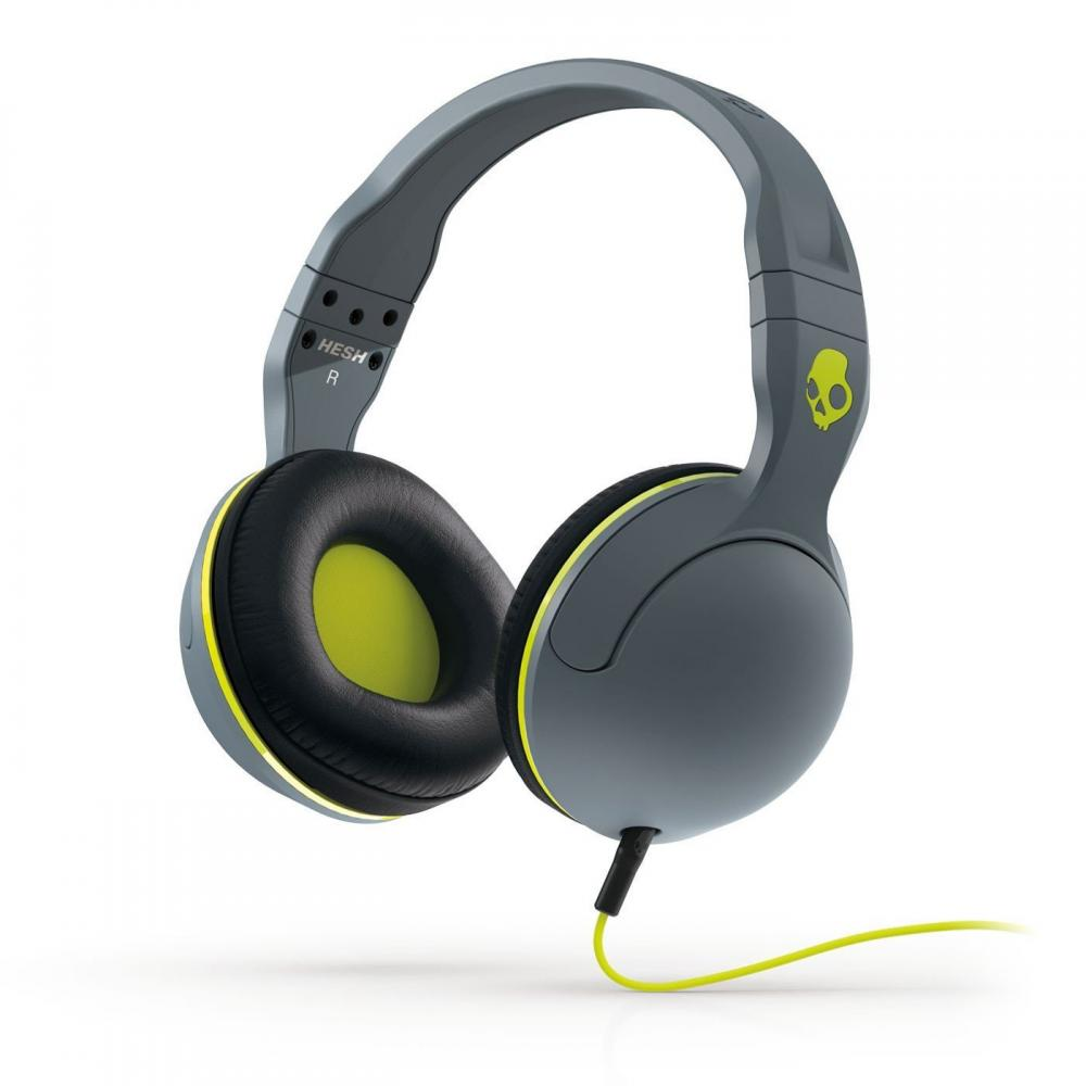 Casti Skullcandy Hesh Gray/Black/Hot Lime
