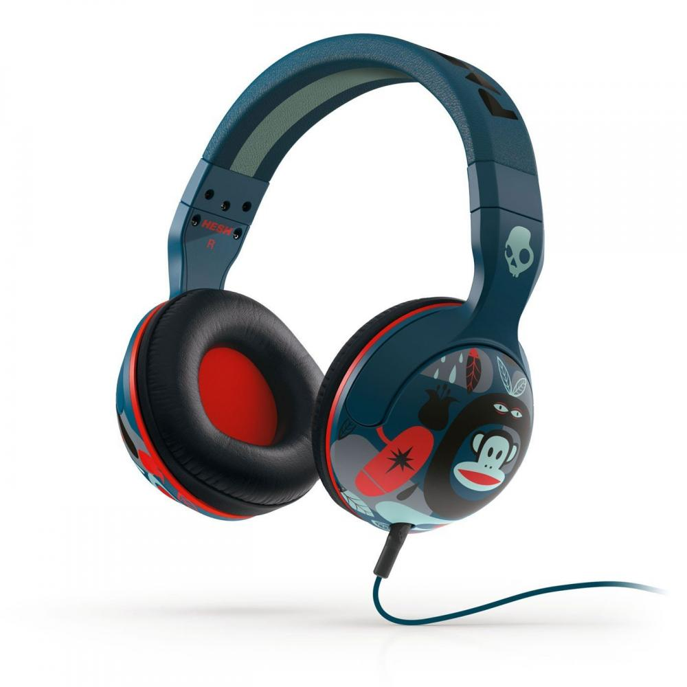Casti Skullcandy Hesh Paul Frank/Navy/Red