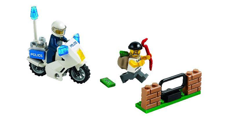 Lego City Urmarirea infractorului
